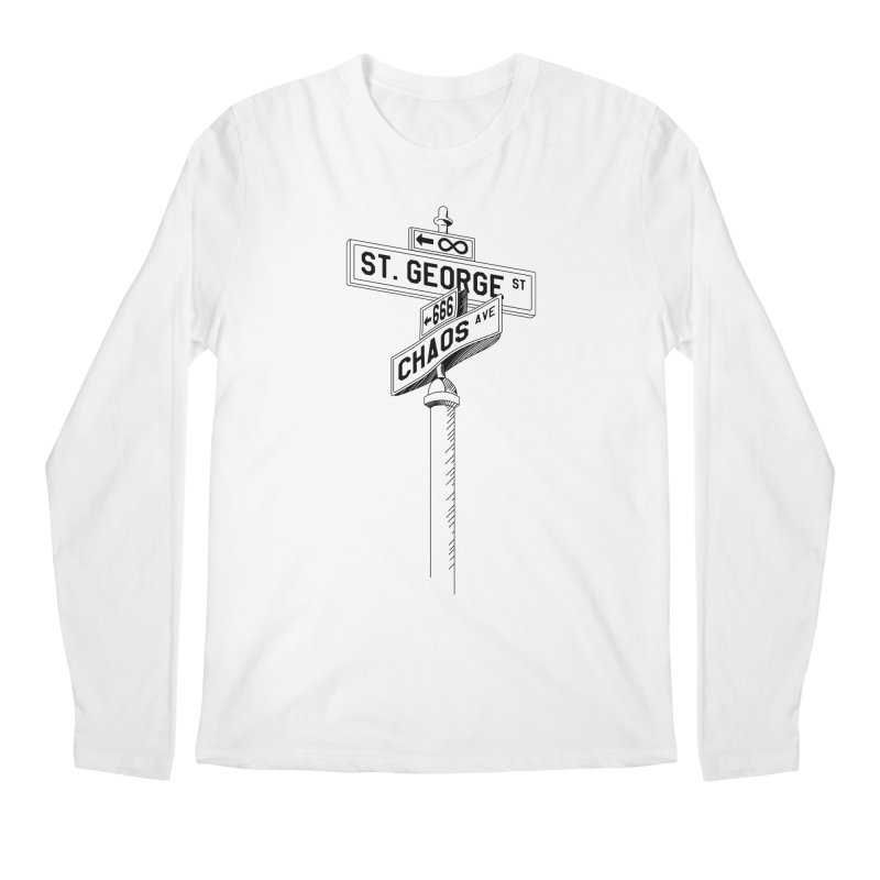Dragon Slayer Men's Longsleeve T-Shirt by Shirts of Meaning