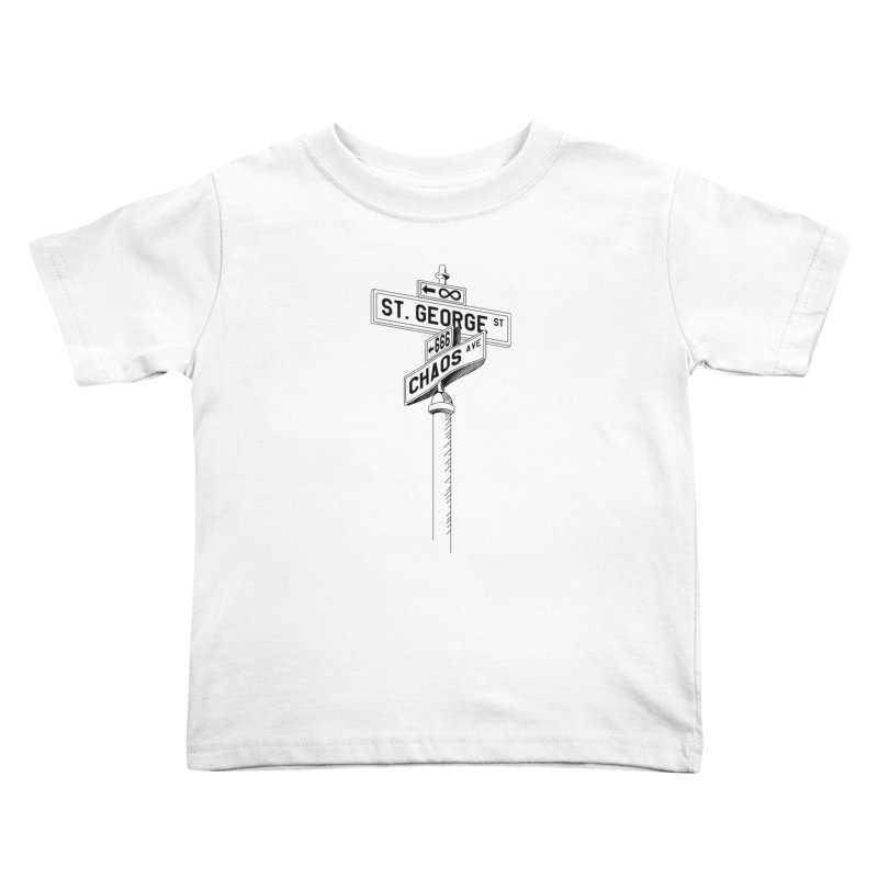 Dragon Slayer Kids Toddler T-Shirt by Shirts of Meaning
