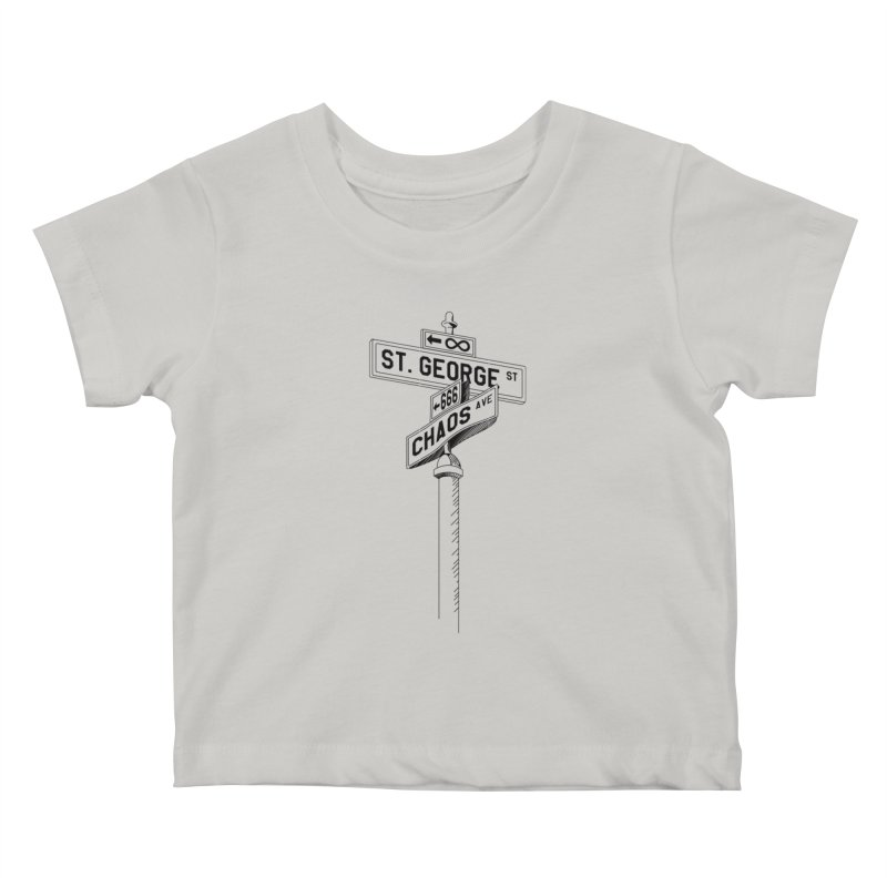 Dragon Slayer Kids Baby T-Shirt by Shirts of Meaning