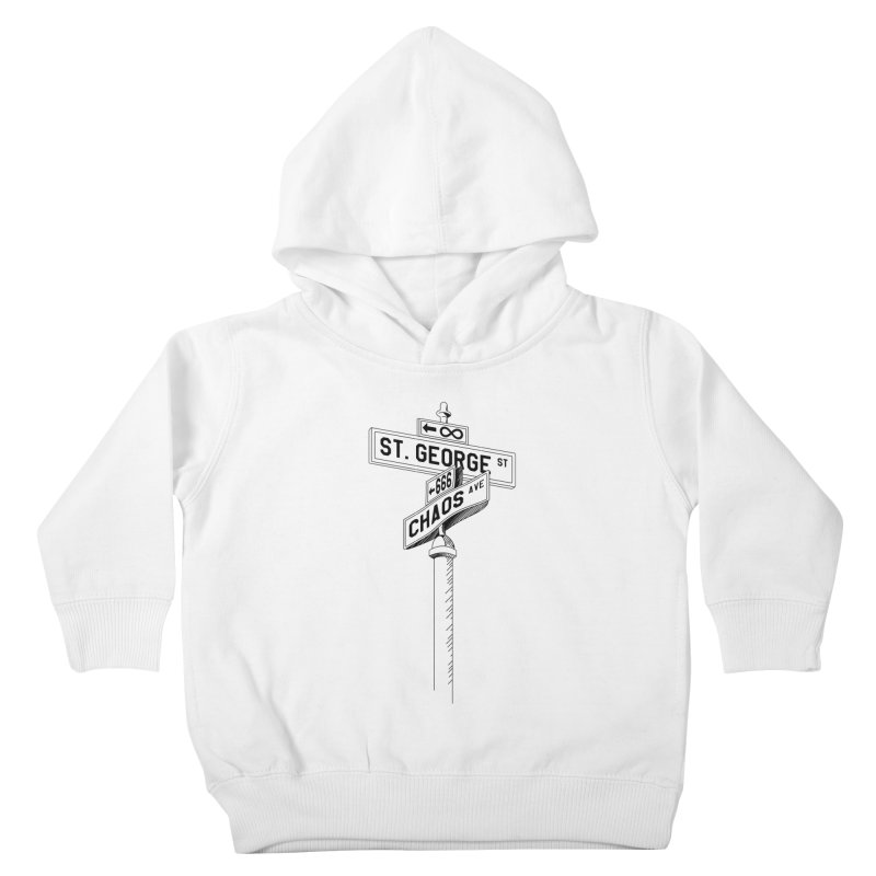 Dragon Slayer Kids Toddler Pullover Hoody by Shirts of Meaning