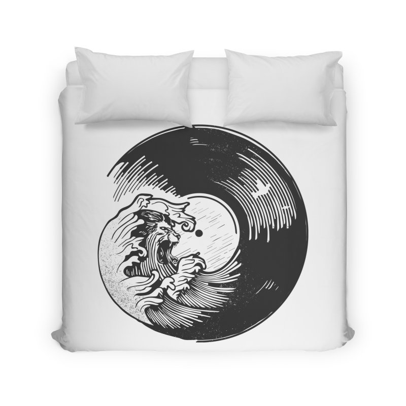 Breakers Roar Home Duvet by Shirts of Meaning