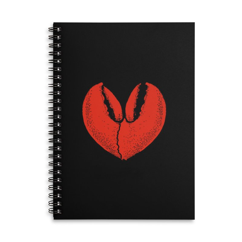 Crush-tacean Vol. 2 Accessories Lined Spiral Notebook by Shirts of Meaning