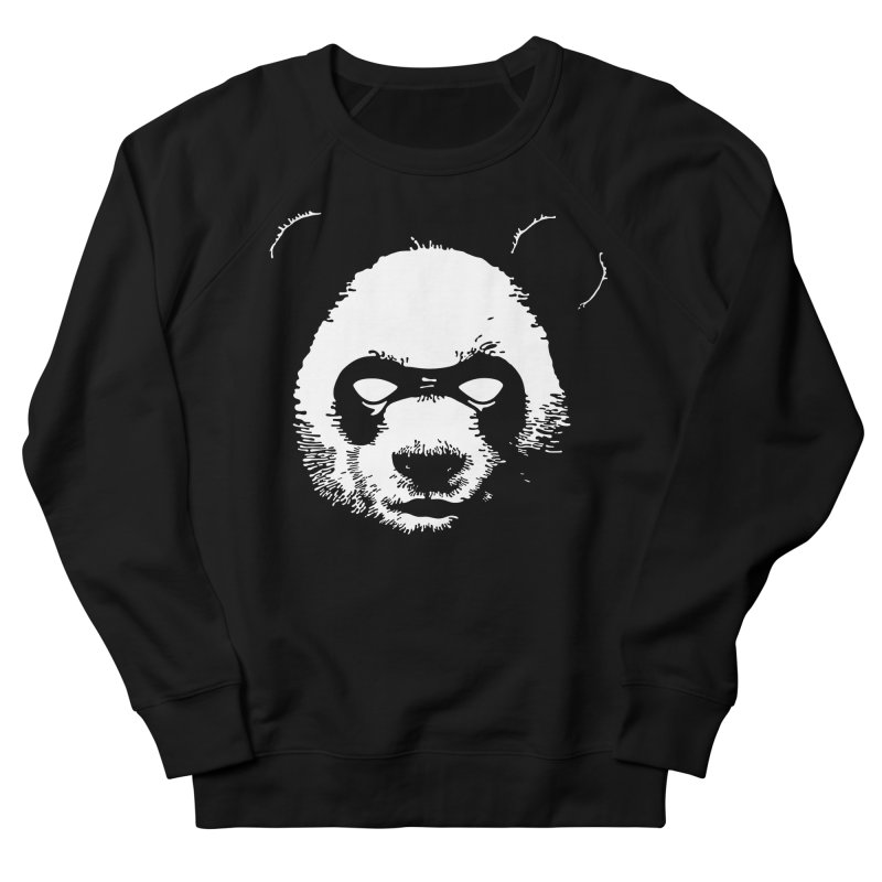 Disappointment Panda Women's French Terry Sweatshirt by Shirts of Meaning