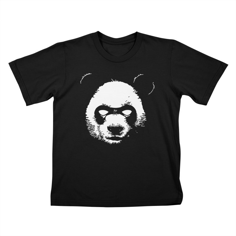 Disappointment Panda Kids T-Shirt by Shirts of Meaning