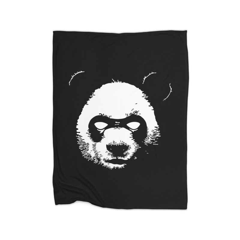 Disappointment Panda Home Fleece Blanket Blanket by Shirts of Meaning