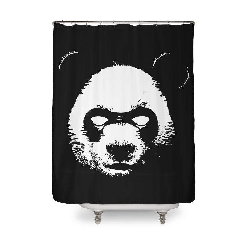 Disappointment Panda Home Shower Curtain by Shirts of Meaning