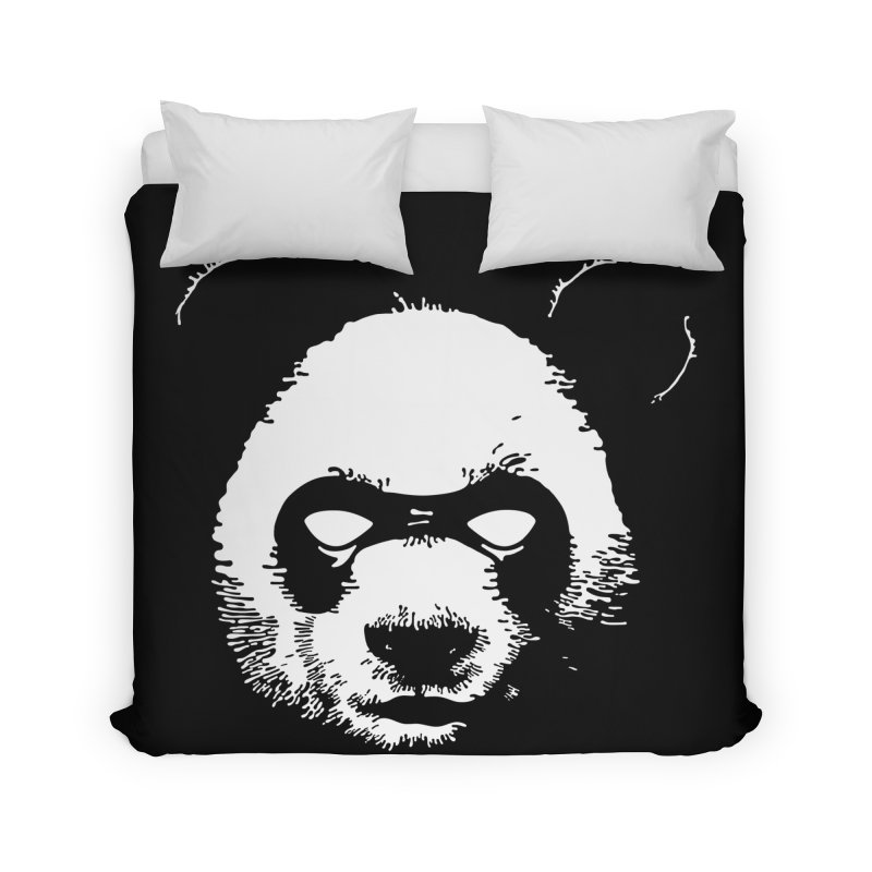 Disappointment Panda Home Duvet by Shirts of Meaning