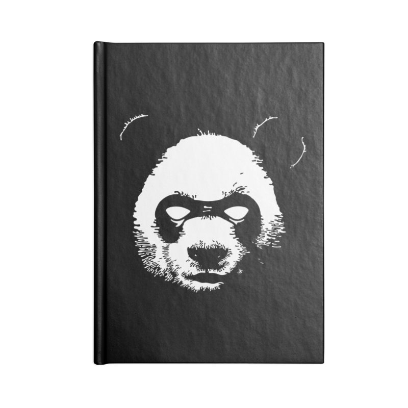 Disappointment Panda Accessories Blank Journal Notebook by Shirts of Meaning