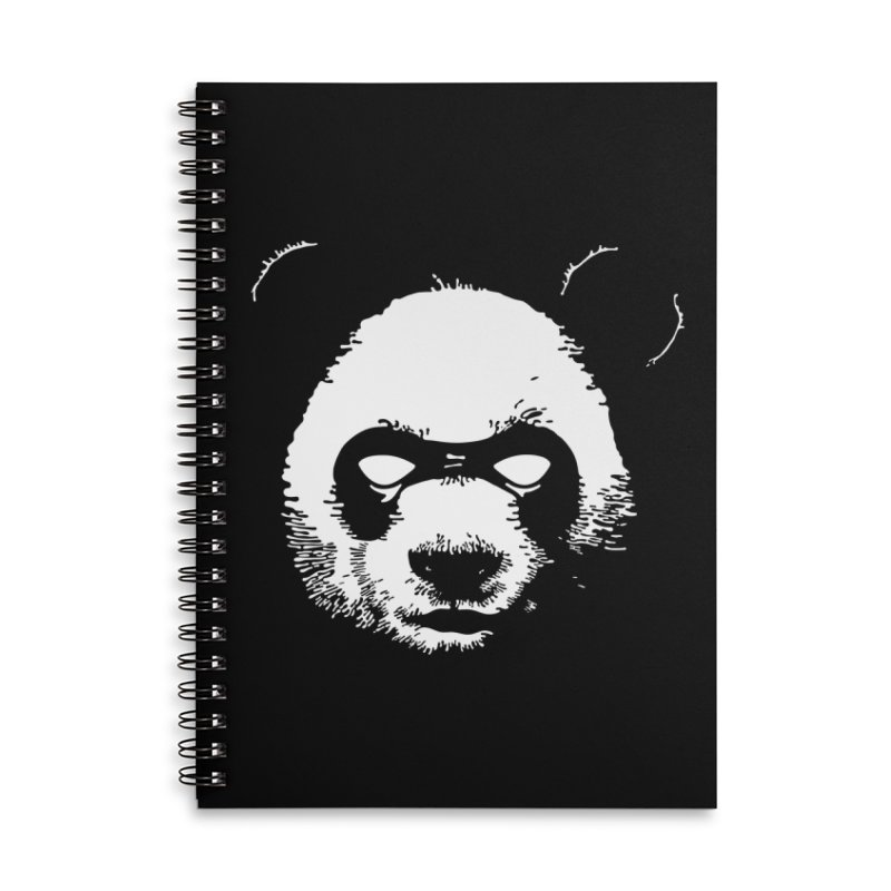 Disappointment Panda Accessories Lined Spiral Notebook by Shirts of Meaning