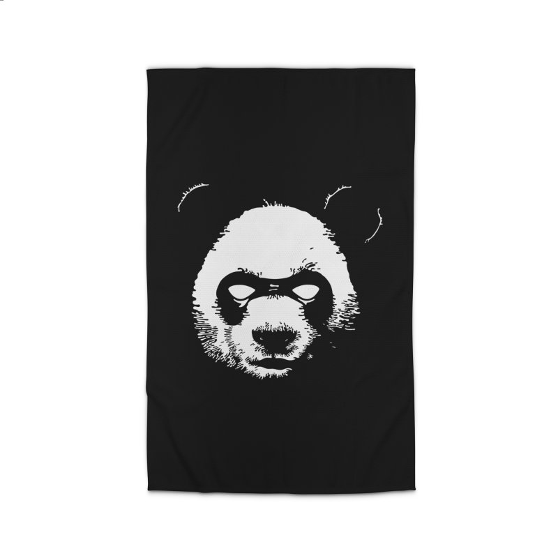 Disappointment Panda Home Rug by Shirts of Meaning