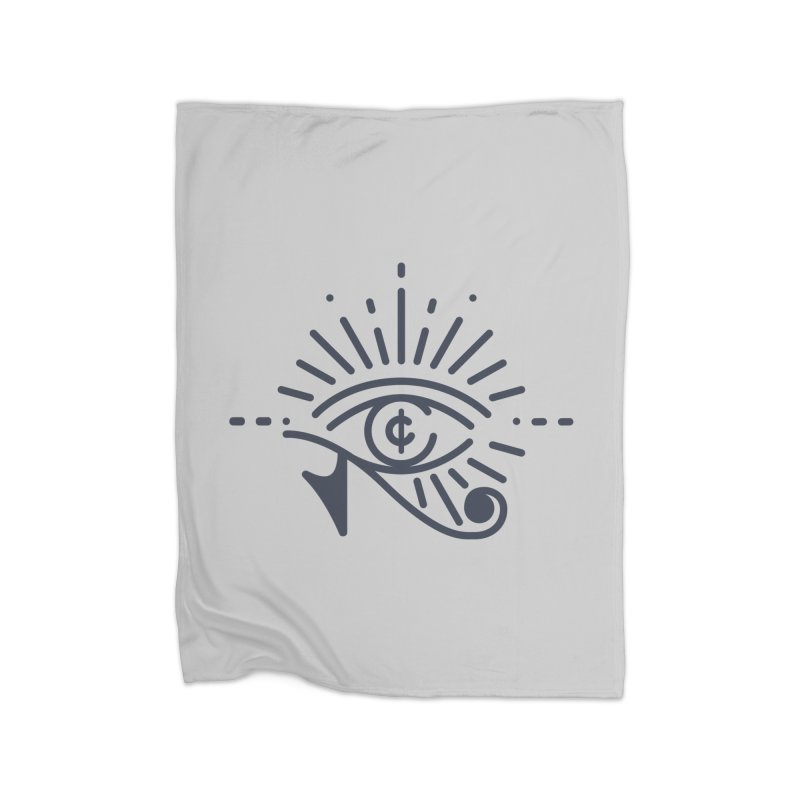 Pay Attention Vol. 1 Home Fleece Blanket Blanket by Shirts of Meaning