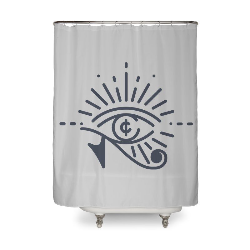 Pay Attention Vol. 1 Home Shower Curtain by Shirts of Meaning