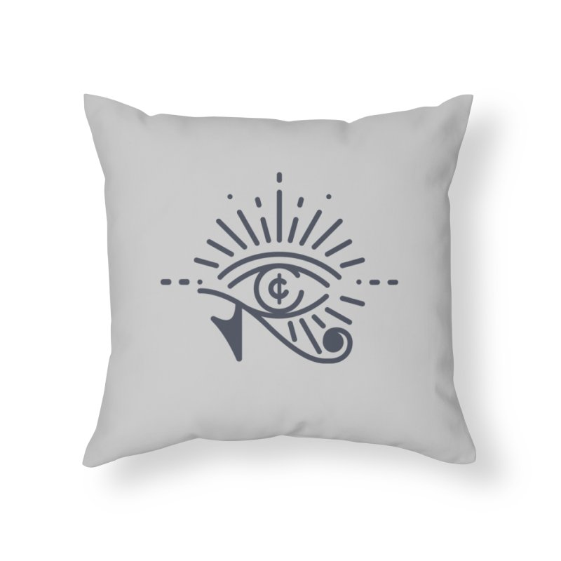Pay Attention Vol. 1 in Throw Pillow by Shirts of Meaning