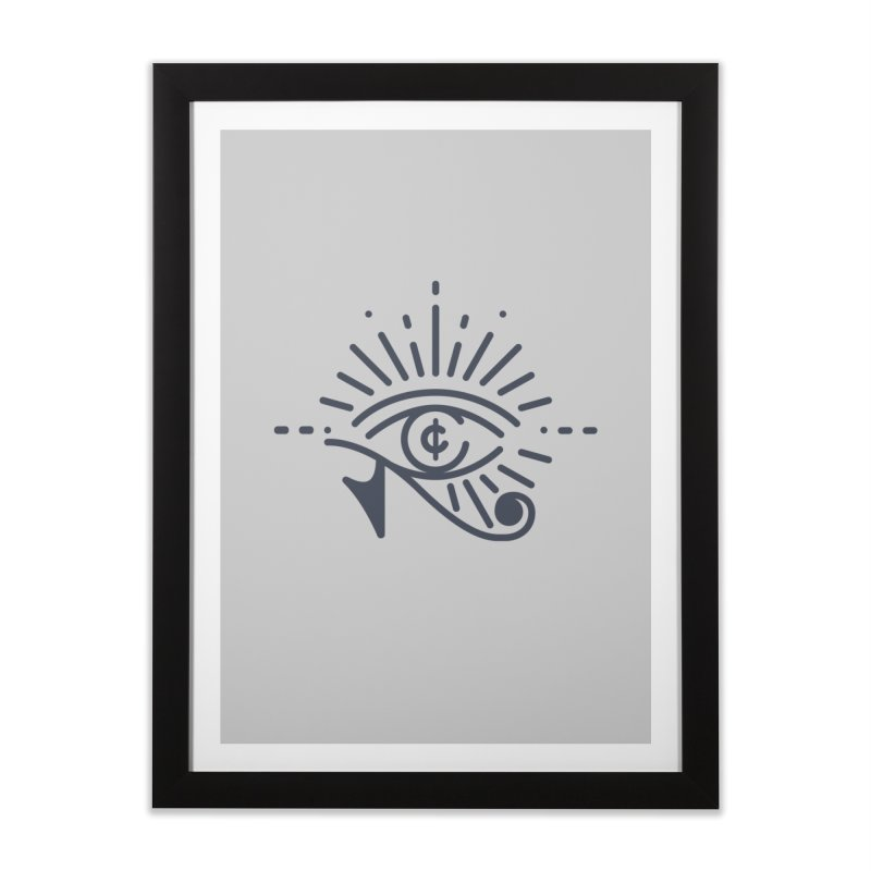 Pay Attention Vol. 1 Home Framed Fine Art Print by Shirts of Meaning