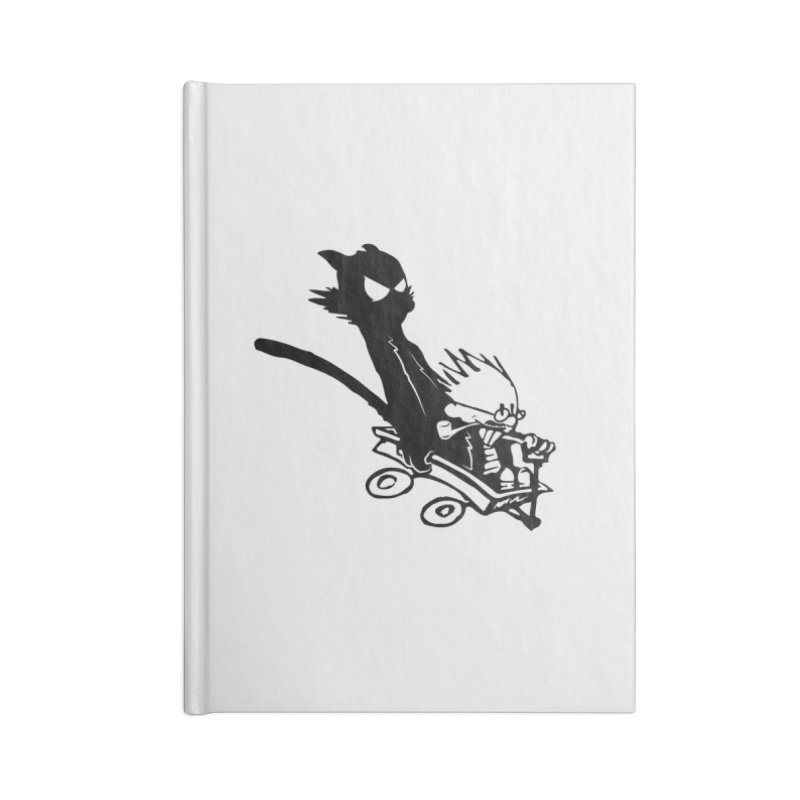 My Shadow is my BFF Accessories Blank Journal Notebook by Shirts of Meaning