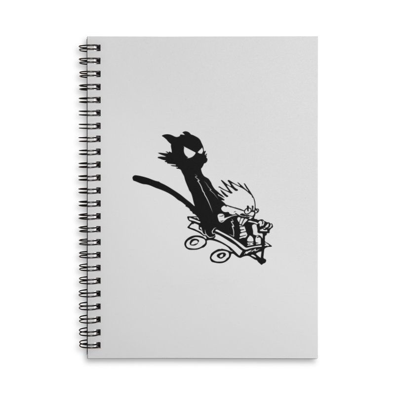 My Shadow is my BFF Accessories Lined Spiral Notebook by Shirts of Meaning