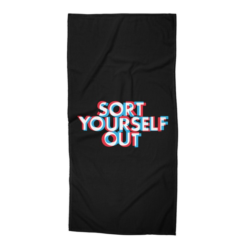 Focus Accessories Beach Towel by Shirts of Meaning