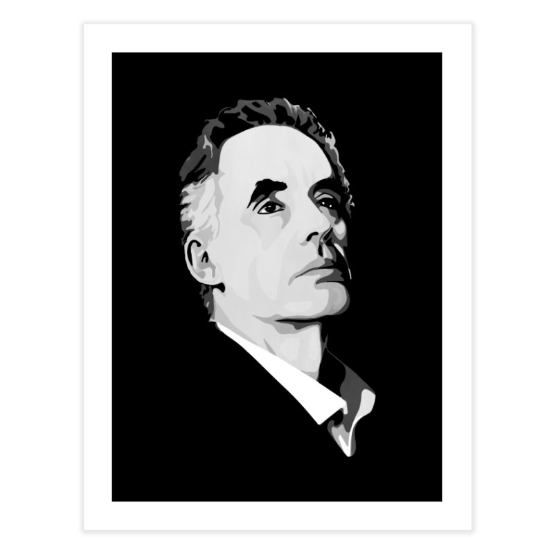 JBP Home Fine Art Print by Shirts of Meaning