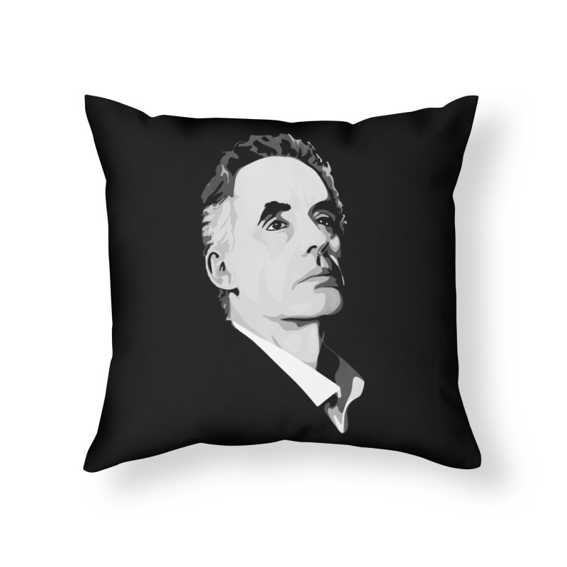 JBP Home Throw Pillow by Shirts of Meaning
