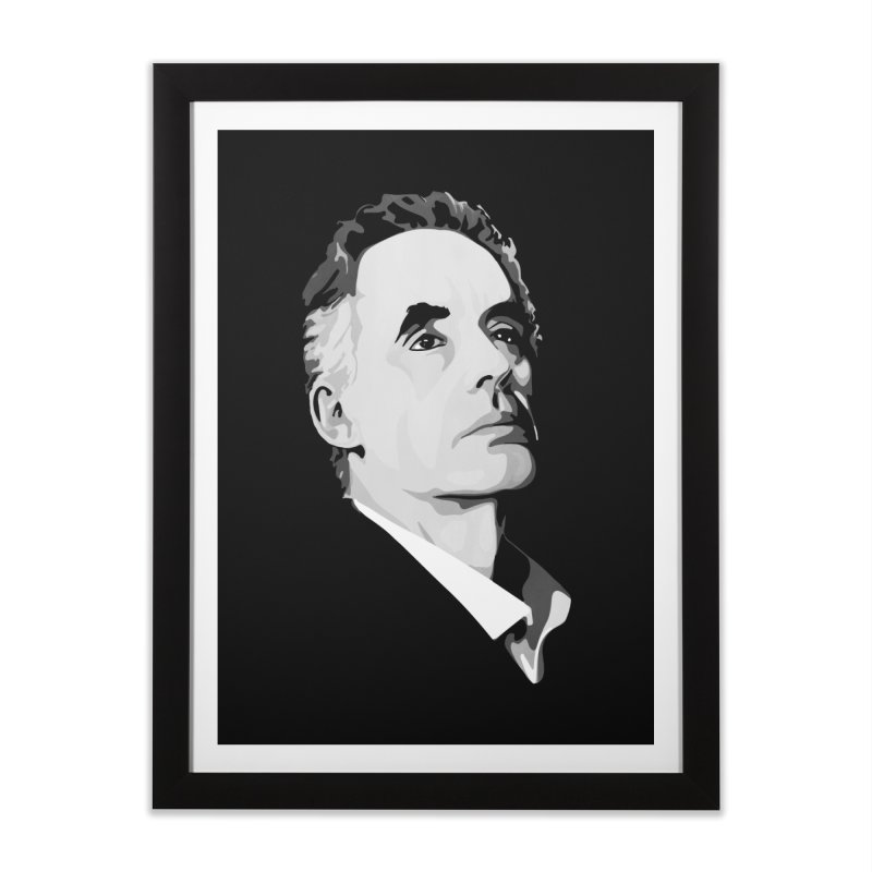 JBP Home Framed Fine Art Print by Shirts of Meaning