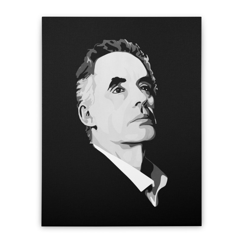 JBP Home Stretched Canvas by Shirts of Meaning