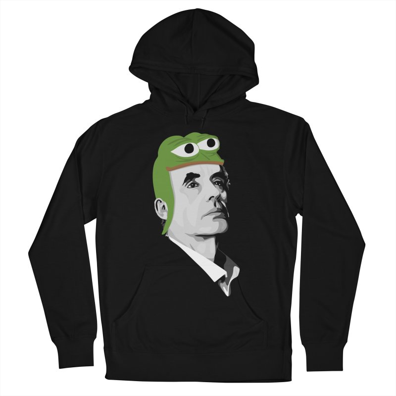 Jordan B Frog Men's French Terry Pullover Hoody by Shirts of Meaning