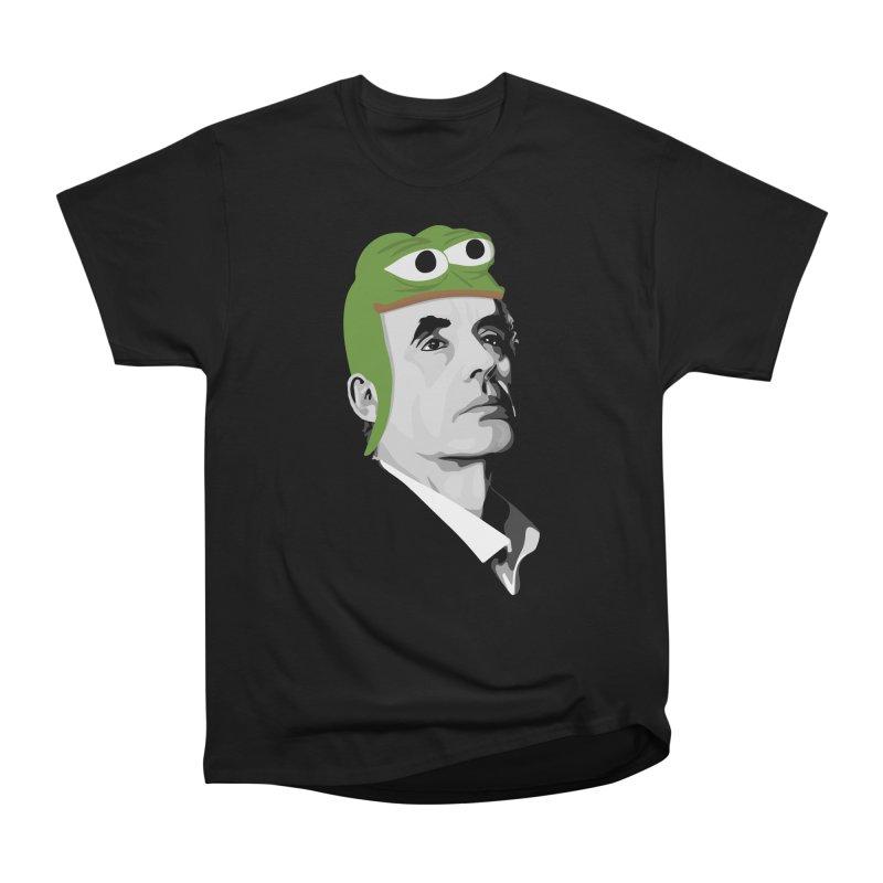 Jordan B Frog Women's Heavyweight Unisex T-Shirt by Shirts of Meaning