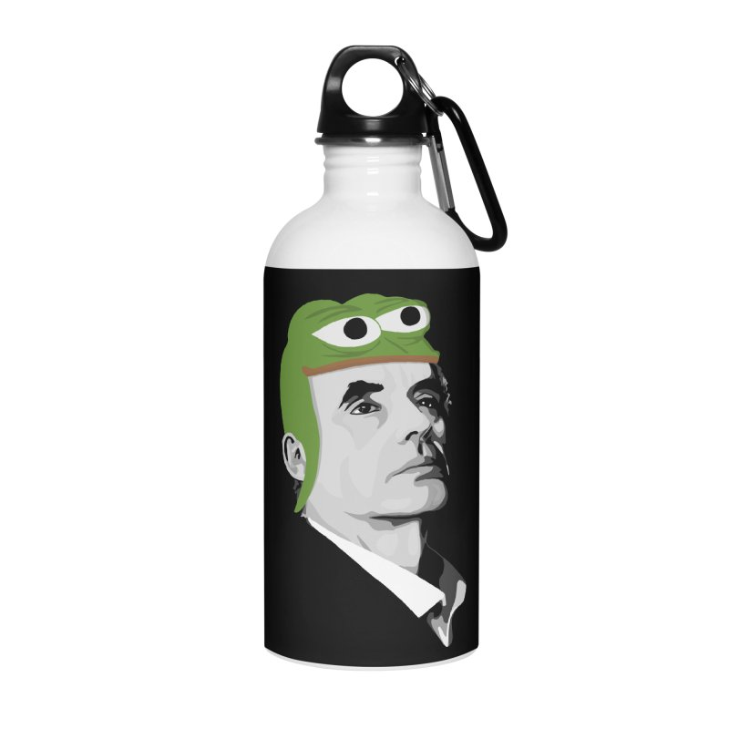 Jordan B Frog Accessories Water Bottle by Shirts of Meaning