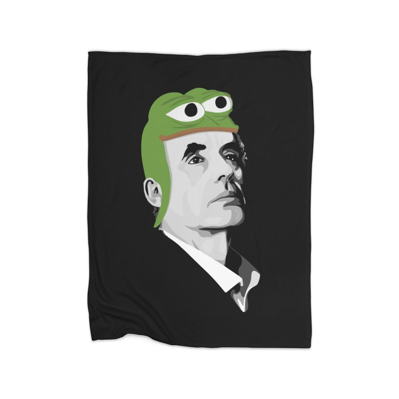 Jordan B Frog Home Blanket by Shirts of Meaning