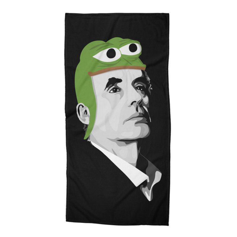 Jordan B Frog Accessories Beach Towel by Shirts of Meaning
