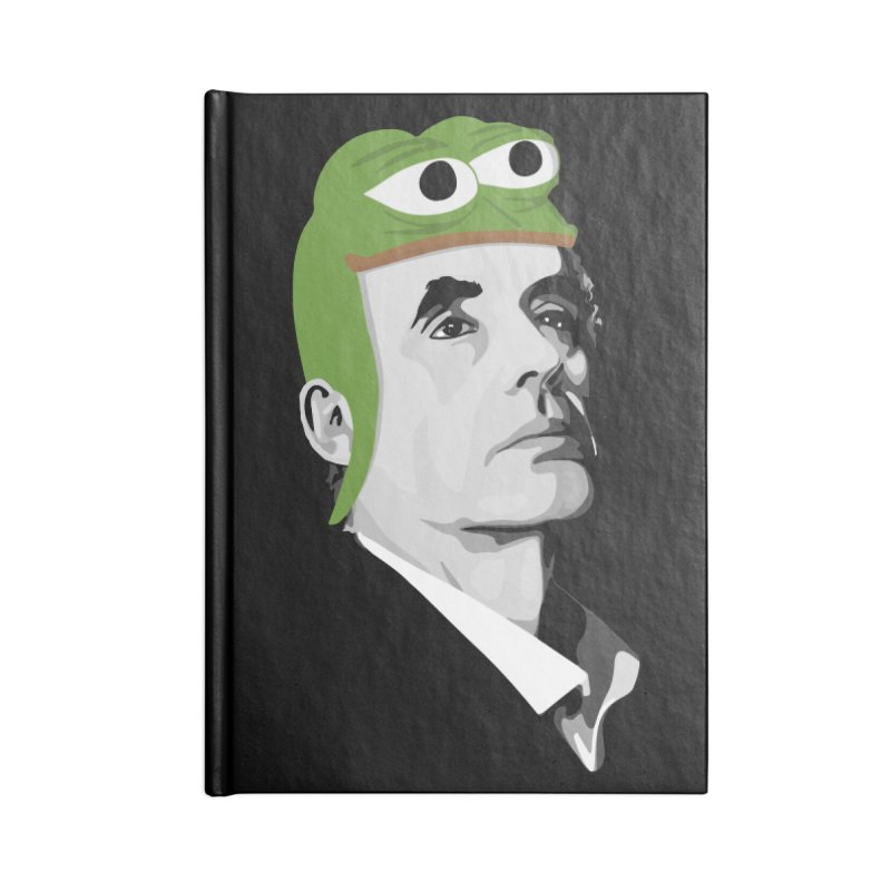 Jordan B Frog Accessories Notebook by Shirts of Meaning