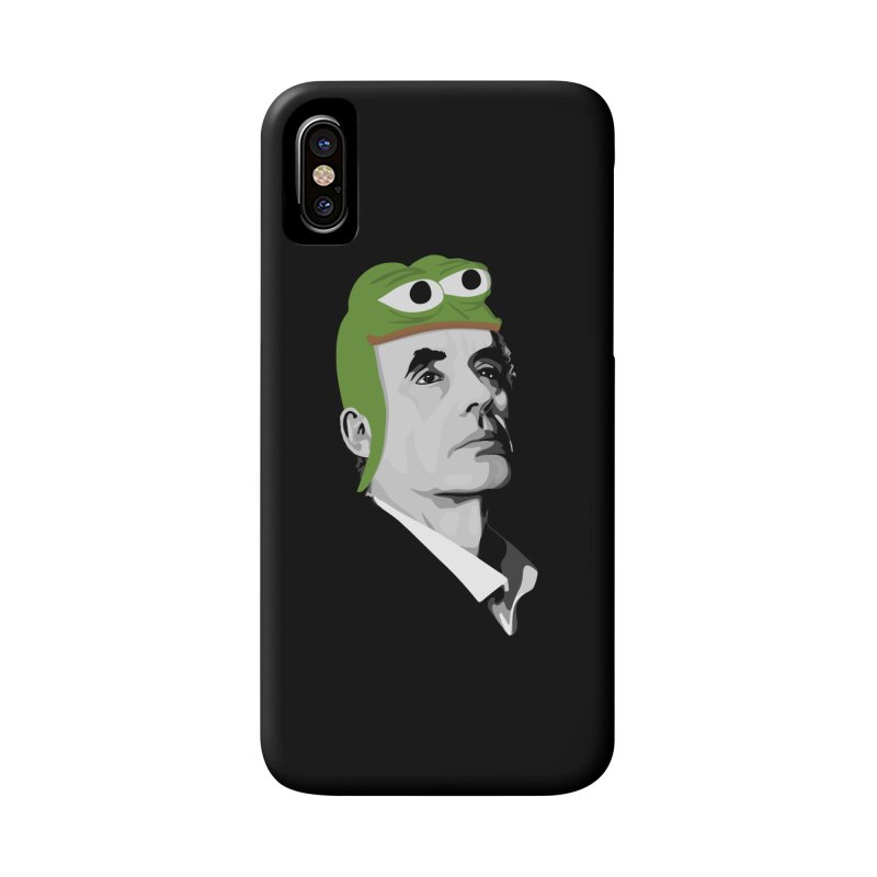 Jordan B Frog Accessories Phone Case by Shirts of Meaning