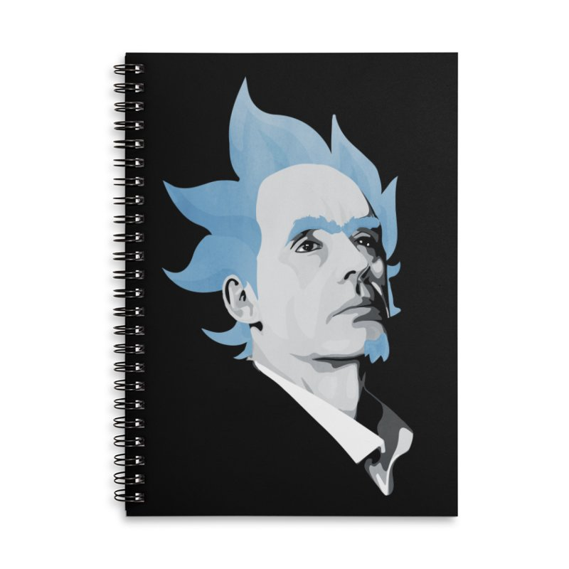 Jordan C-137 Accessories Lined Spiral Notebook by Shirts of Meaning
