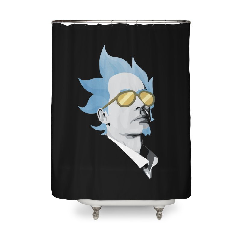 Jordan K-83 Home Shower Curtain by Shirts of Meaning