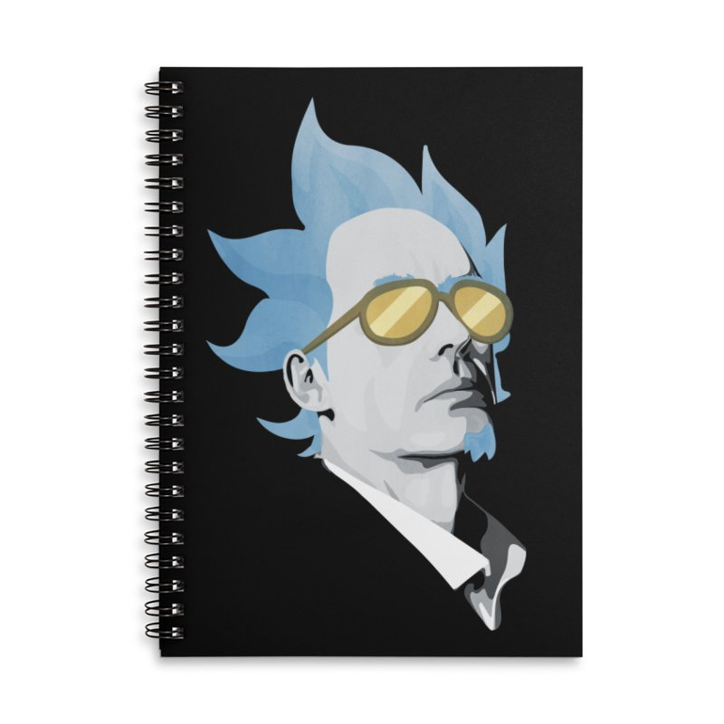 Jordan K-83 Accessories Lined Spiral Notebook by Shirts of Meaning