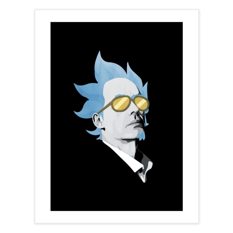Jordan K-83 Home Fine Art Print by Shirts of Meaning