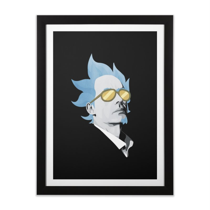 Jordan K-83 Home Framed Fine Art Print by Shirts of Meaning