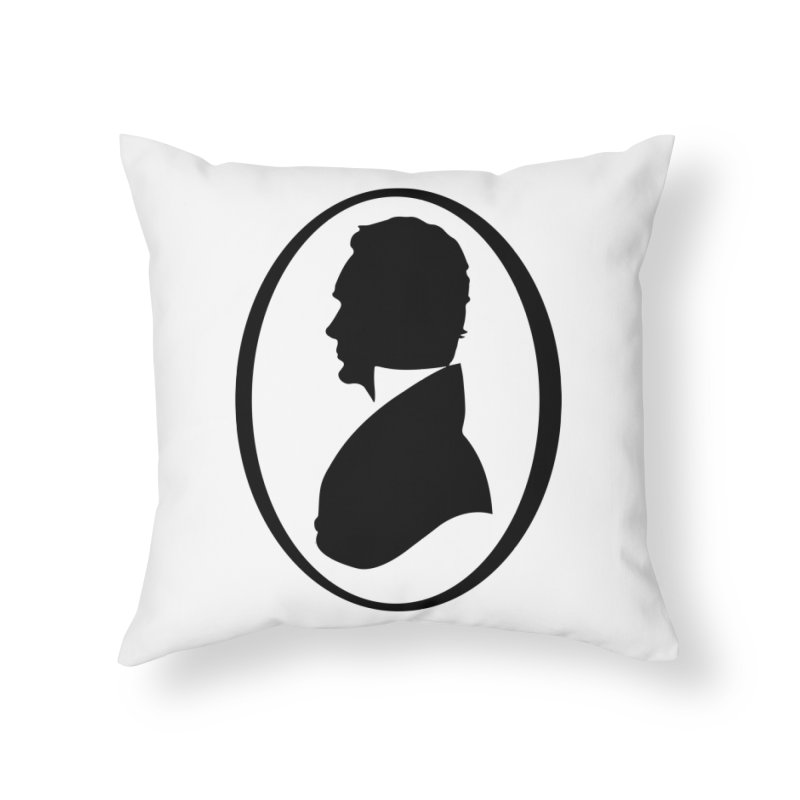 Thinker Home Throw Pillow by Shirts of Meaning