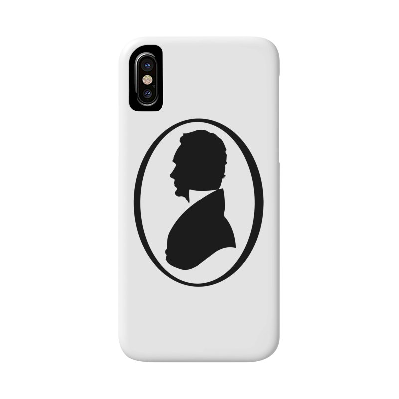 Thinker Accessories Phone Case by Shirts of Meaning