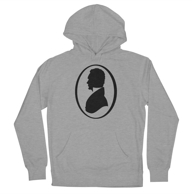 Thinker Men's French Terry Pullover Hoody by Shirts of Meaning