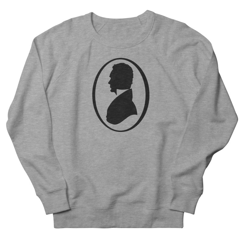 Thinker Men's French Terry Sweatshirt by Shirts of Meaning