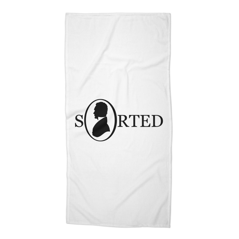 Sorted Accessories Beach Towel by Shirts of Meaning