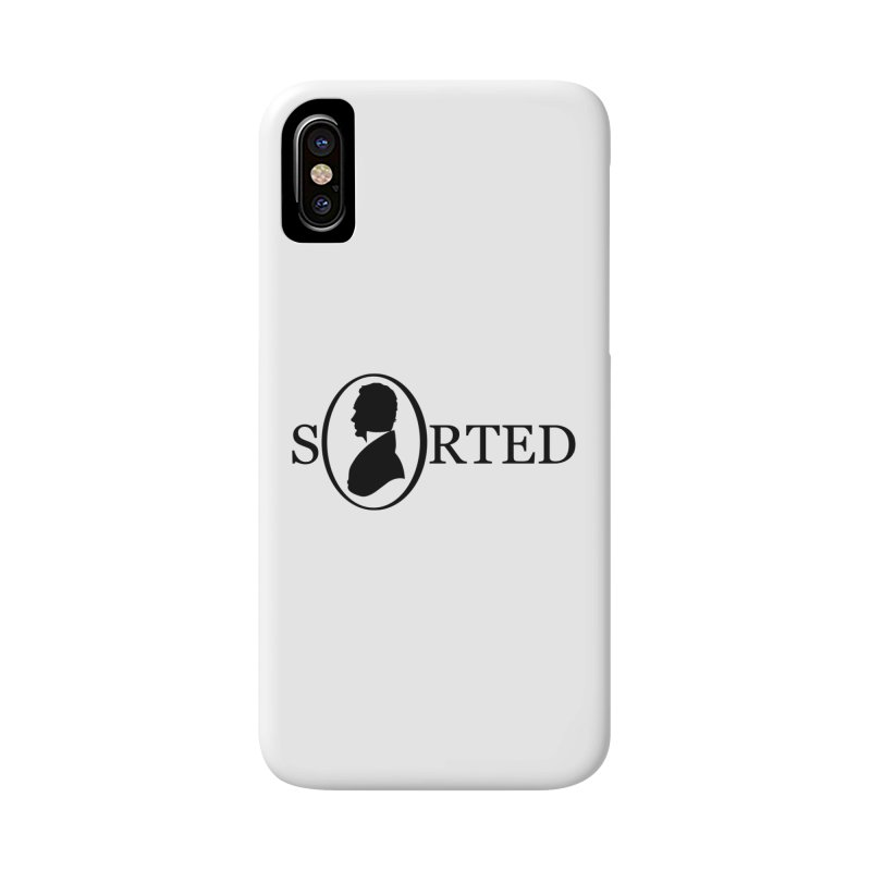 Sorted Accessories Phone Case by Shirts of Meaning