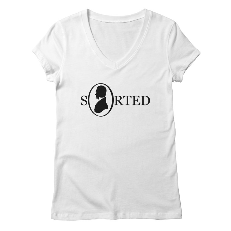 Sorted Women's Regular V-Neck by Shirts of Meaning