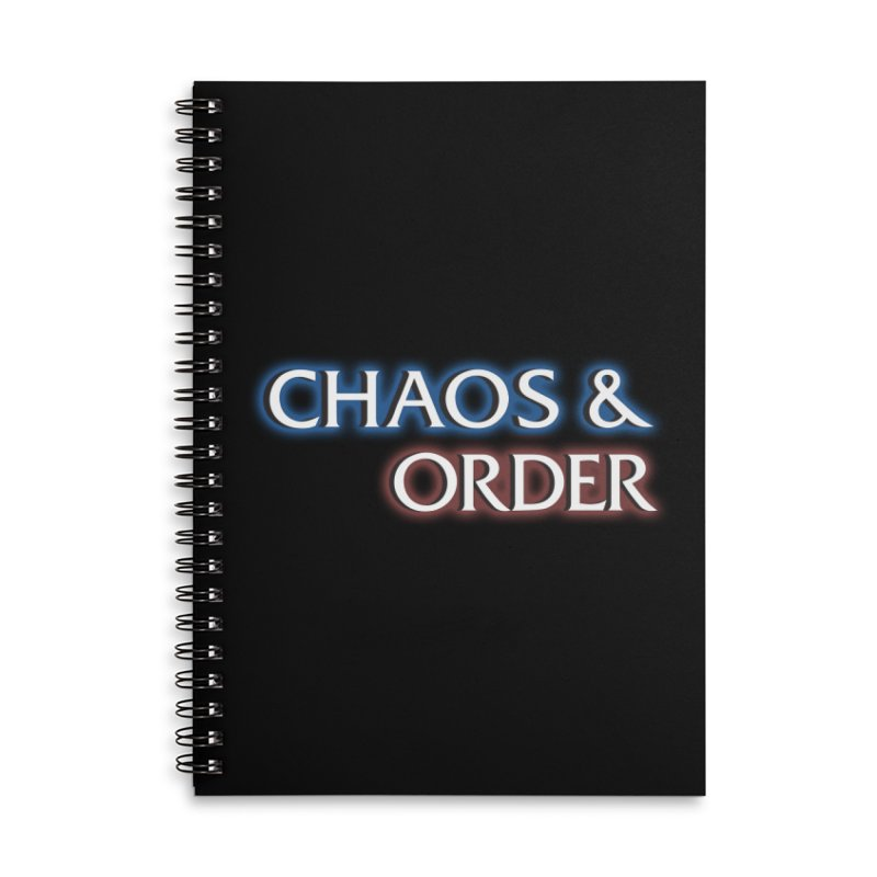 Dunn-Dunn Accessories Lined Spiral Notebook by Shirts of Meaning