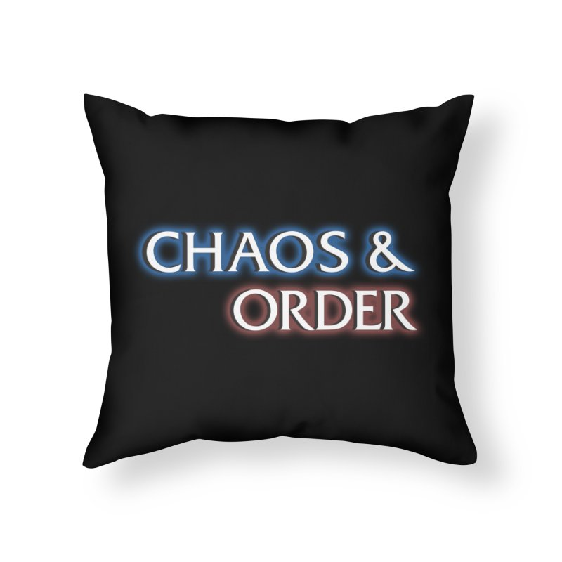 Dunn-Dunn Home Throw Pillow by Shirts of Meaning