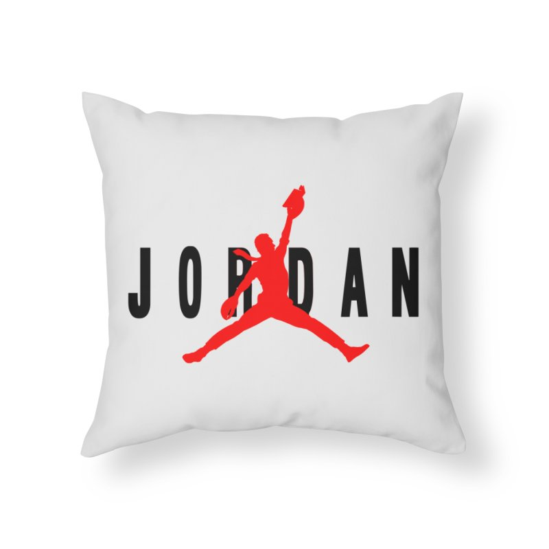 Air Peterson Home Throw Pillow by Shirts of Meaning