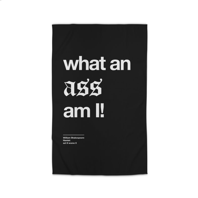what an ass am I! Home Rug by Shirtspeare