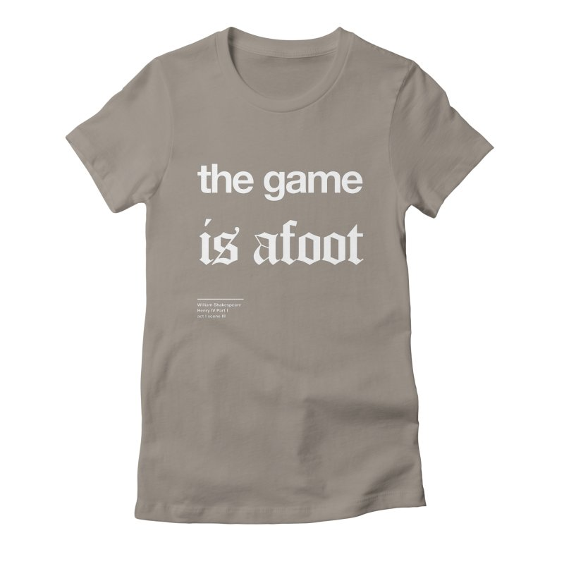 the game is afoot Women's Lounge Pants by Shirtspeare