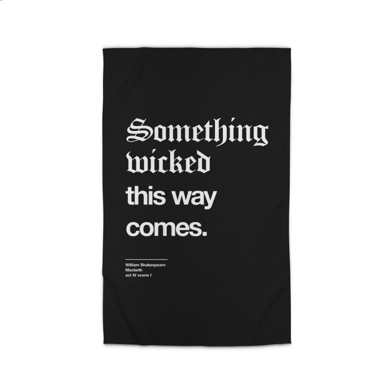 Something wicked this way comes. Home Rug by Shirtspeare